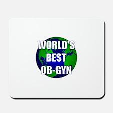 World's Best OB-GYN Mousepad