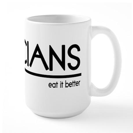 Dietician Joke Large Mug
