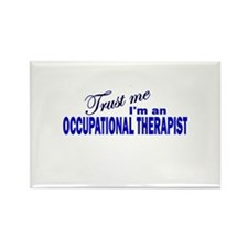 Trust Me I'm An Occupational Rectangle Magnet