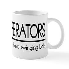 Crane Operator Joke Small Mug