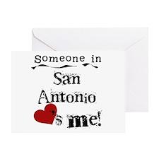 San Antonio Loves Me Greeting Card