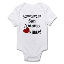 San Antonio Loves Me Infant Bodysuit