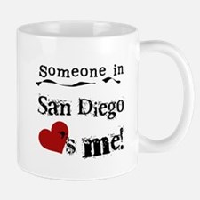 Someone in San Diego Loves Me Mug