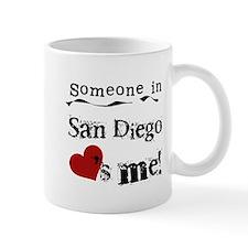 Someone in San Diego Loves Me Mug