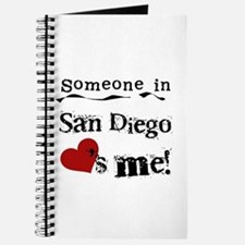 Someone in San Diego Loves Me Journal