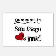 Someone in San Diego Loves Me Postcards (Package o