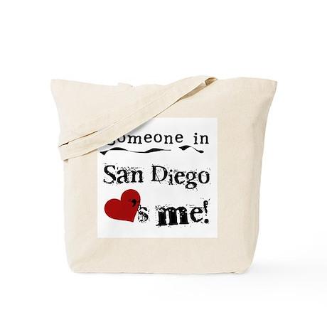 Someone in San Diego Loves Me Tote Bag