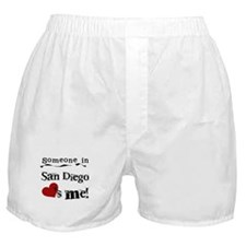 Someone in San Diego Loves Me Boxer Shorts