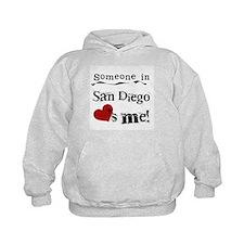 Someone in San Diego Loves Me Hoodie