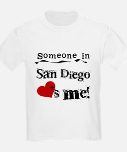Someone in San Diego Loves Me T-Shirt
