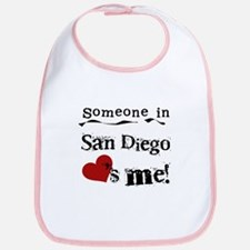Someone in San Diego Loves Me Bib