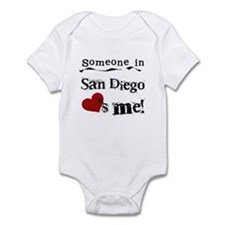 Someone in San Diego Loves Me Infant Bodysuit