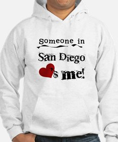 Someone in San Diego Loves Me Hoodie