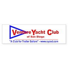Venture Yacht Club of San Diego Bumper Bumper Sticker