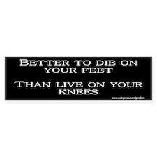 Die on Feet