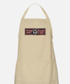The Closer You Get, The Slowe BBQ Apron