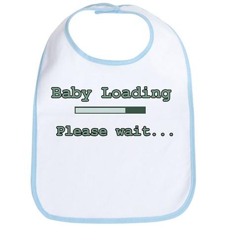 Green Baby Loading Bib
