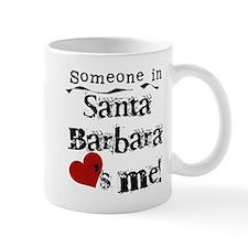 Santa Barbara Loves Me Mug