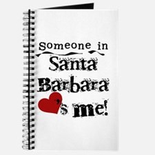 Santa Barbara Loves Me Journal