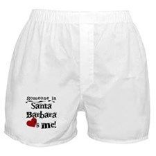 Santa Barbara Loves Me Boxer Shorts
