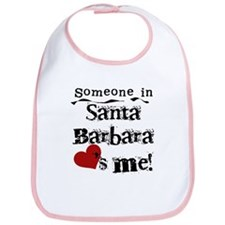 Santa Barbara Loves Me Bib