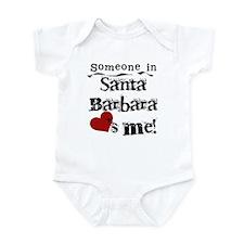 Santa Barbara Loves Me Infant Bodysuit