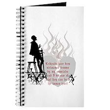 Redhead Demon Quote Journal