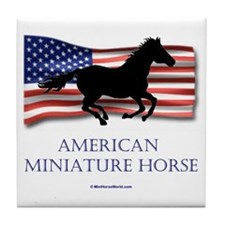 American Miniature Horse Tile Coaster