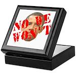 No We Won't Keepsake Box