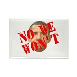 No We Won't Rectangle Magnet (100 pack)