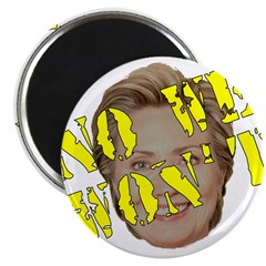 No We Won't Magnet