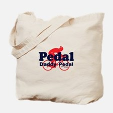 Pedal Daddy Pedal Tote Bag