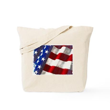Americana Couture USA Flag Tote Bag