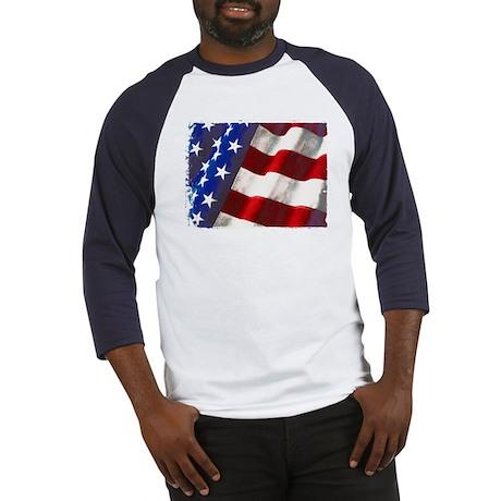 Americana Couture USA Flag Baseball Jersey