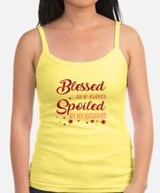 Blessed By God Spoiled By My Husband T Sh Tank Top