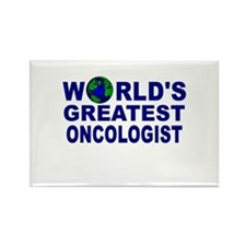World's Greatest Oncologist Rectangle Magnet