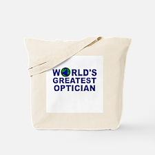 World's Greatest Optician Tote Bag