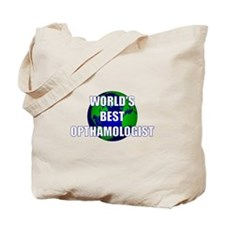 World's Best Opthamologist Tote Bag