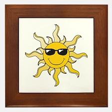 SUN (22) Framed Tile