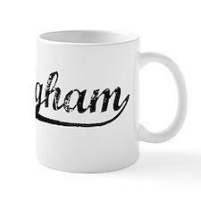 Vintage Nottingham (Black) Small Mug