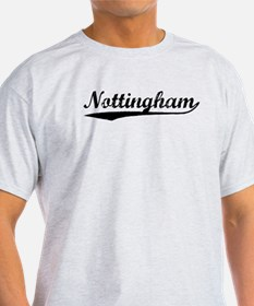 Vintage Nottingham (Black) T-Shirt