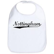 Vintage Nottingham (Black) Bib