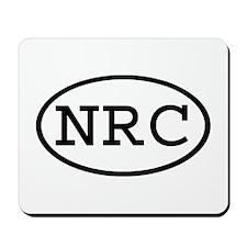 NRC Oval Mousepad