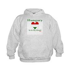 Hungary - Heart Hoodie