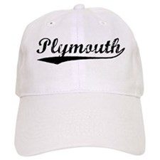 Vintage Plymouth (Black) Baseball Cap