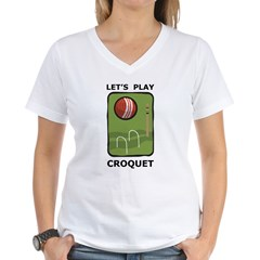 Let's Play Croquet Shirt