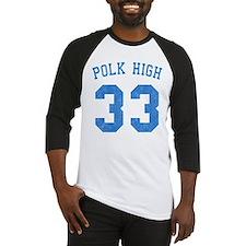 Polk High 33 Baseball Jersey