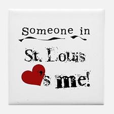 St. Louis Loves Me Tile Coaster
