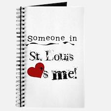 St. Louis Loves Me Journal