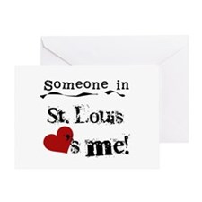St. Louis Loves Me Greeting Card